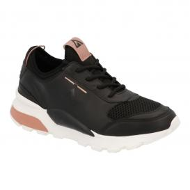 Tenis para Mujer Halogen By Mr. Shu 2903 Color Negro