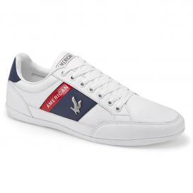 Tenis para Hombre American Fire 7089 Color Blanco/marino