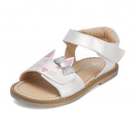 Sandalia para Niña Tropicana 49014 Color Perla