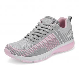 Tenis para Mujer Marcopolo 3881 Color Gris/rosa