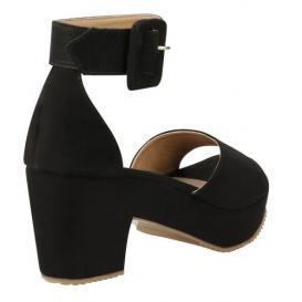 Zapatilla para Mujer Playa Caribe 6982 Color Negro