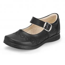 Sandalia para Niña Lady Flores 620 Color Negro